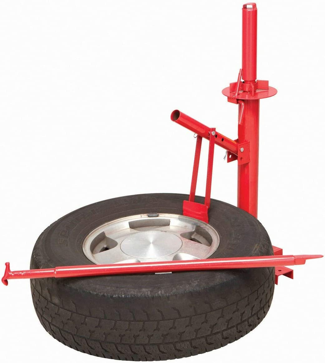 Manual Portable Hand Tire Changer Bead Breaker Tool Mounting Home Shop Auto DIY