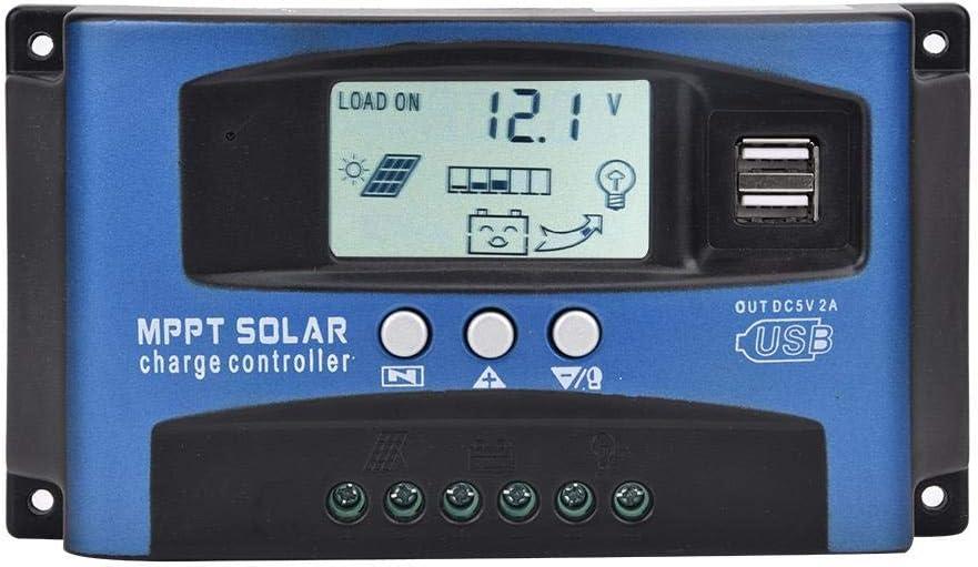 YCX-003-40A 40-100A MPPT Regolatore di Carica del Pannello Solare Regolatore di Messa a Fuoco Automatica 12V//24V OKBY Regolatore di Carica della Batteria