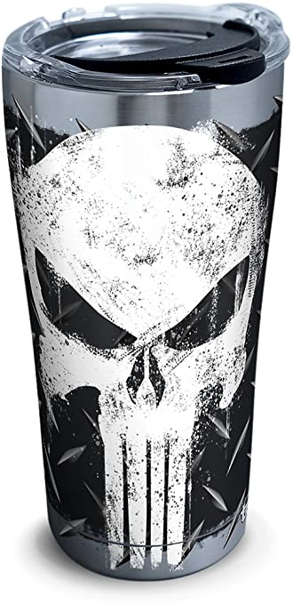 Amazon.com: Tervis 1292882 marvel-punisher térmica de acero ...
