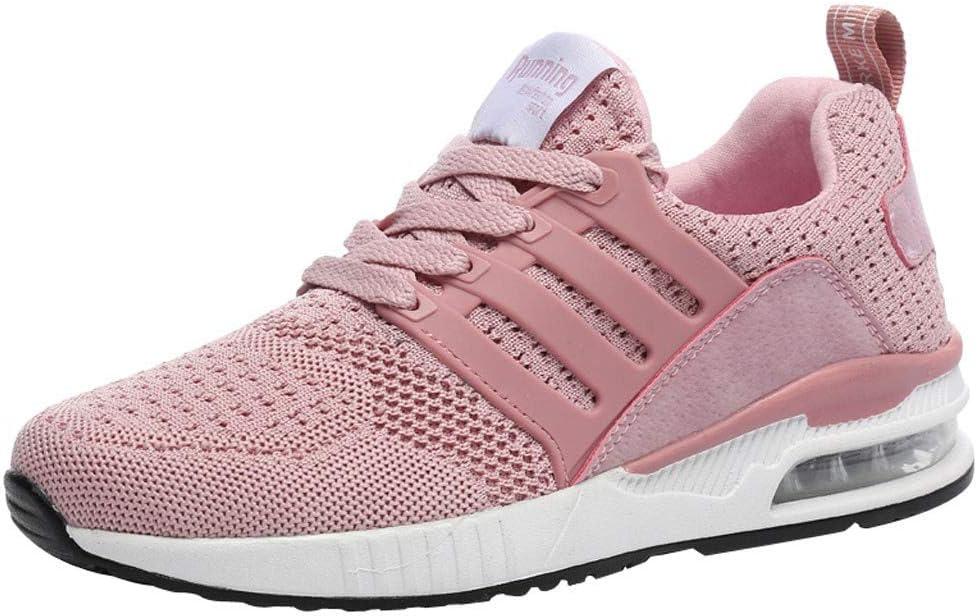 RYTEJFES Zapatos Deportivos para Correr De Mujer Zapatillas De Deporte Transpirables Malla De Moda para Mujer Zapatos Casuales Zapatos para Correr para Estudiantes Calzado Deportivo: Amazon.es: Hogar