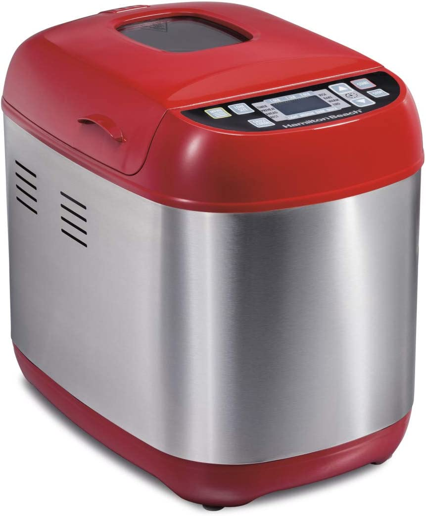 Hamilton Beach Artisan Dough &Amp; Bread Maker Home Good - Red