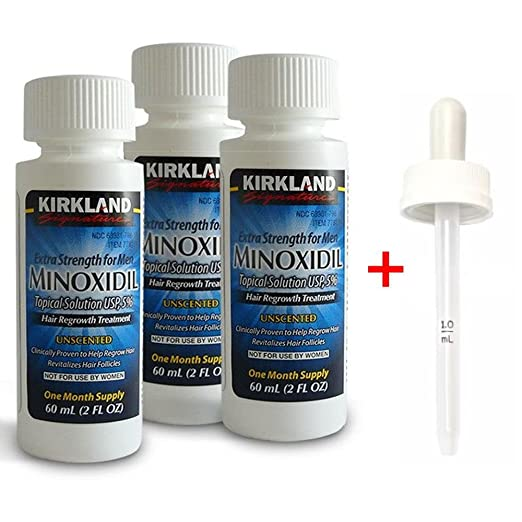 Kirkland Signature Minoxidil Hair Regrowth Solution For Men