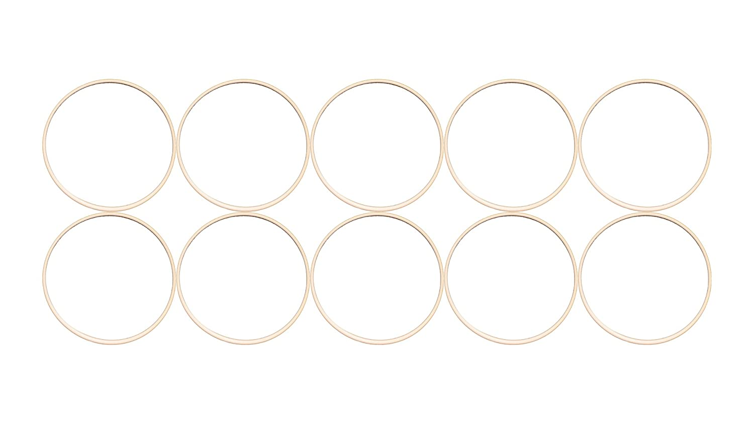 11-3//4 OD Pack of 10 11-1//2 ID 11-3//4 OD 11-1//2 ID Outstanding Weather Resistance Sur-Seal Pack of 10 Sterling Seal ORTFE277x10 Number-277 Standard Teflon O-Ring Polytetrafluoro-Ethylene