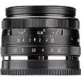 Meike MK-35mm -F1.7 Große Blende Fester manueller Fokus APS-C Kameraobjektiv für Sony A6500 A6300 A600 A6100 NEX3 NEX5 NEX6 NEX7 A5000 A5100 A9 A7 (SONY)