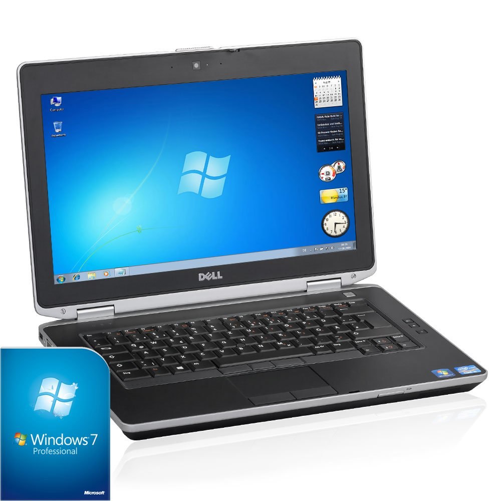 DELL Latitude E6430 Business Ordenador portátil (Intel Core i5 2.7 GHz, 8 GB de RAM, 128 GB SSD, DVD-RW, Windows 7) mit Bluetooth Core i5 2.6GHz 128GB SSD: ...