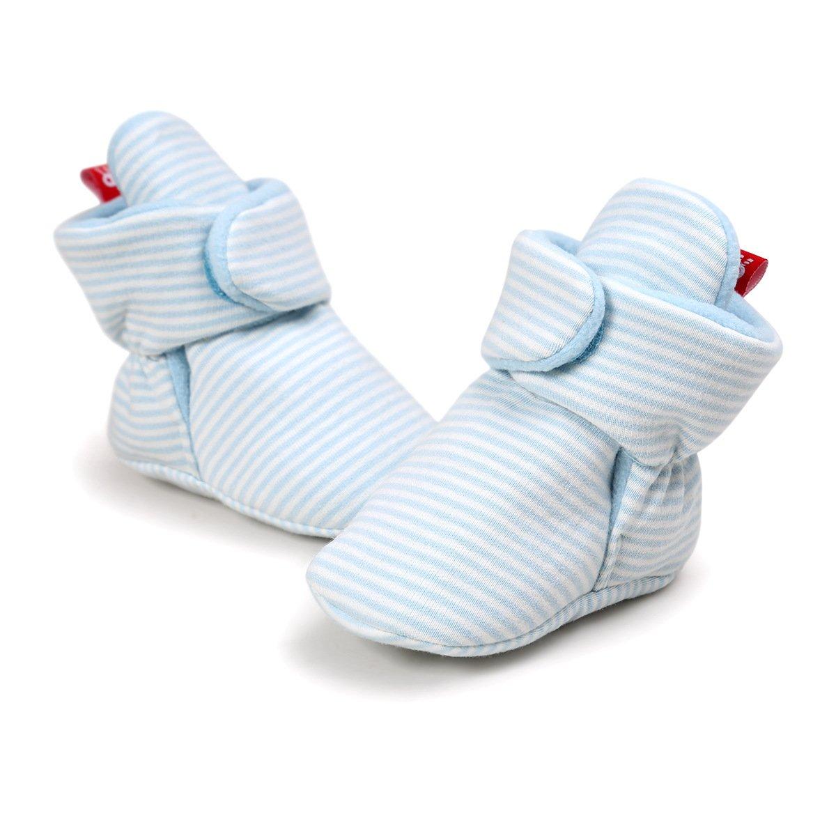 Adorel Patucos Zapatillas Invierno para Beb/é Reci/én Nacido