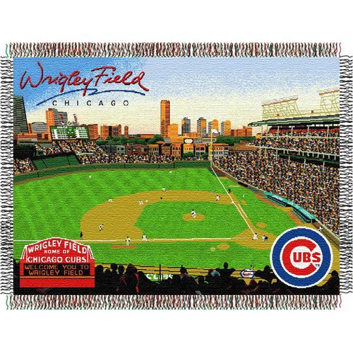 Northwest Chicago Cubs Wrigley Field Tapestry - Wrigley Field One Size