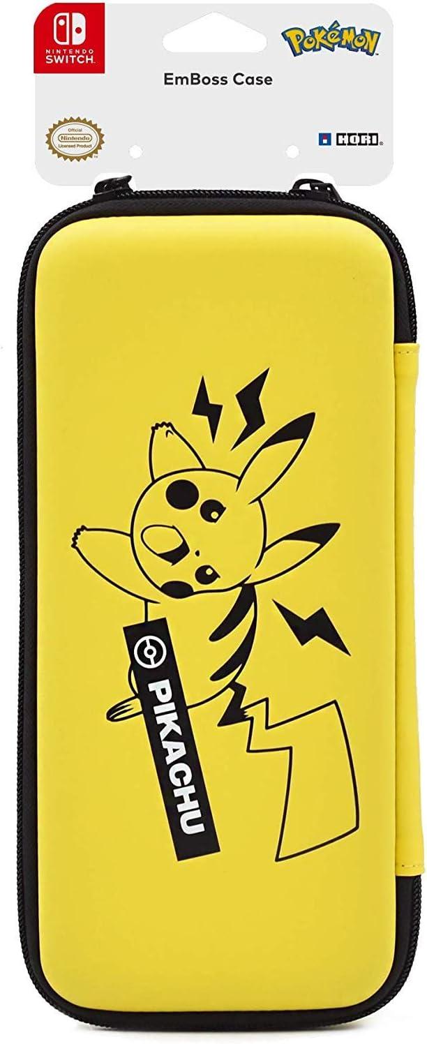 Hori - Funda rígida en relieve Pikachu (Nintendo Switch): Amazon ...
