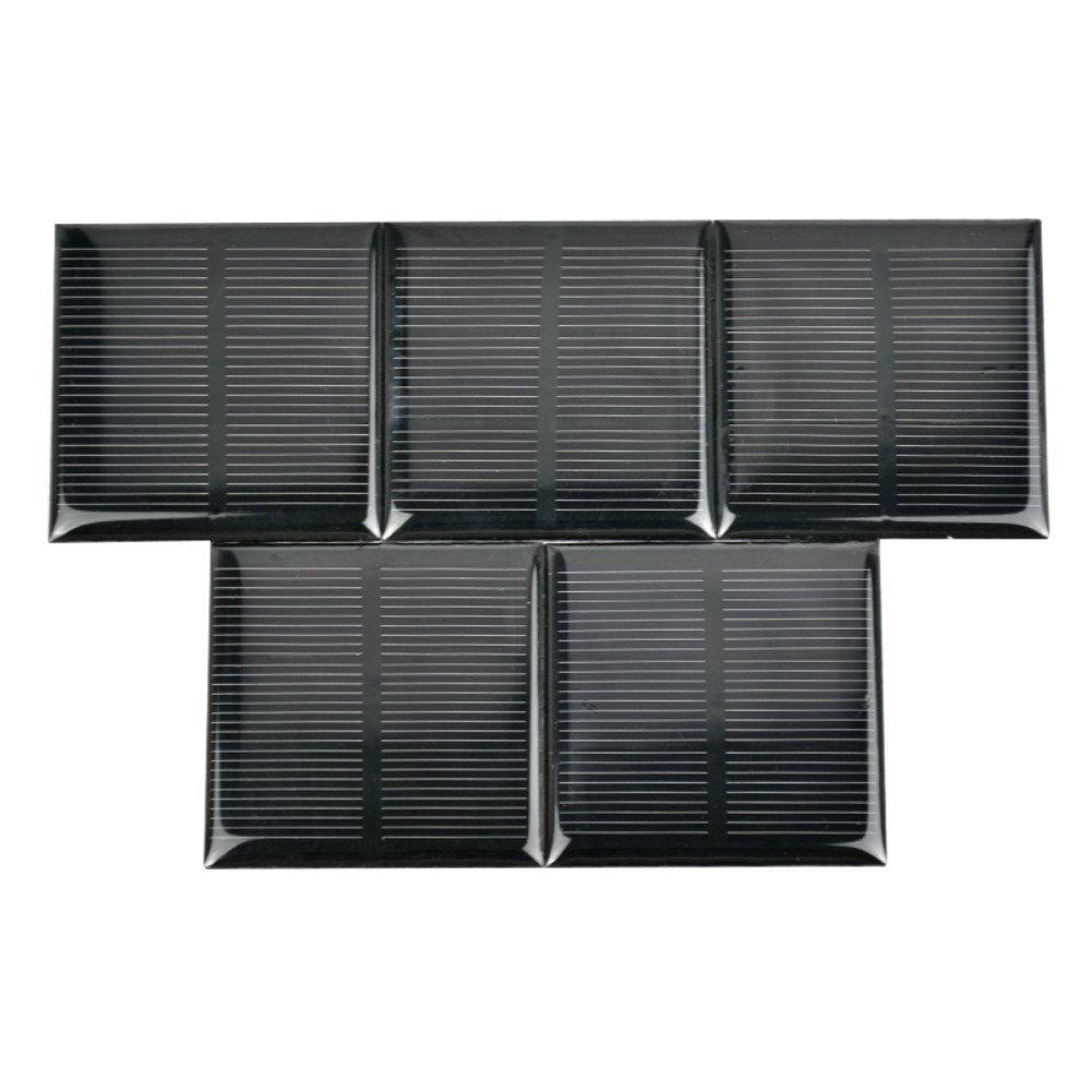 AIYIMA 5PCS 1.5 V 250 mA silicio policristallino pannelli solari cella solare per ricarica solare solare fai da te giocattoli progetto 52 x 52 MM/2 x 2