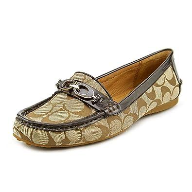 9826025cb3a Coach Women s Fortunata Signature C Jacquard Loafers