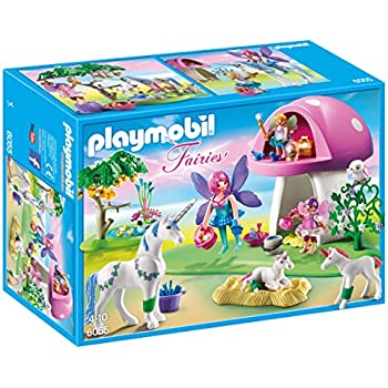 PLAYMOBIL Fairies with Toadstool House