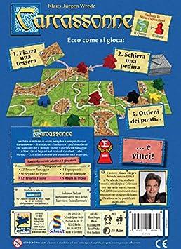 Giochi Uniti Carcassonne - Juego de Estrategia (en Italiano) [Importado de Italia]: No Name: Amazon.es: Juguetes y juegos