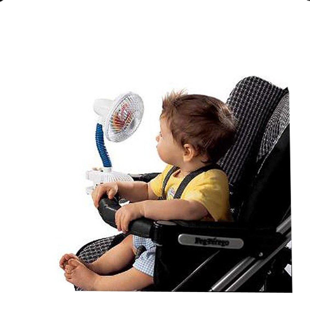 Tragbare Ventilator, ideal geeignet zum Anbringen an Kinderwagen/ Hochstuhl Baby Best Buys