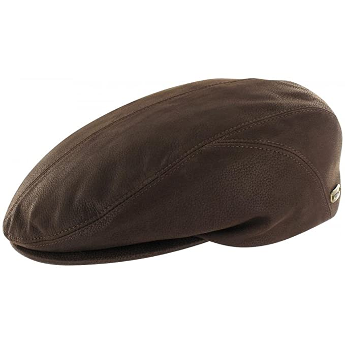 Stetson Gorra Gatsby de Piel Quilence Hombre - Made in Germany ...