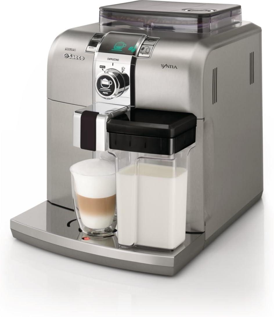 Philips Saeco HD8838/01 - Cafetera automática, 1400 W, color plata ...
