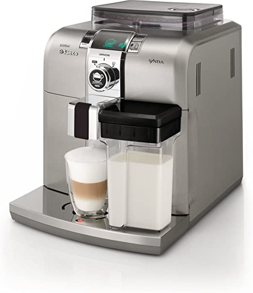 Philips Saeco HD8838/01 - Cafetera automática, 1400 W, color plata ...