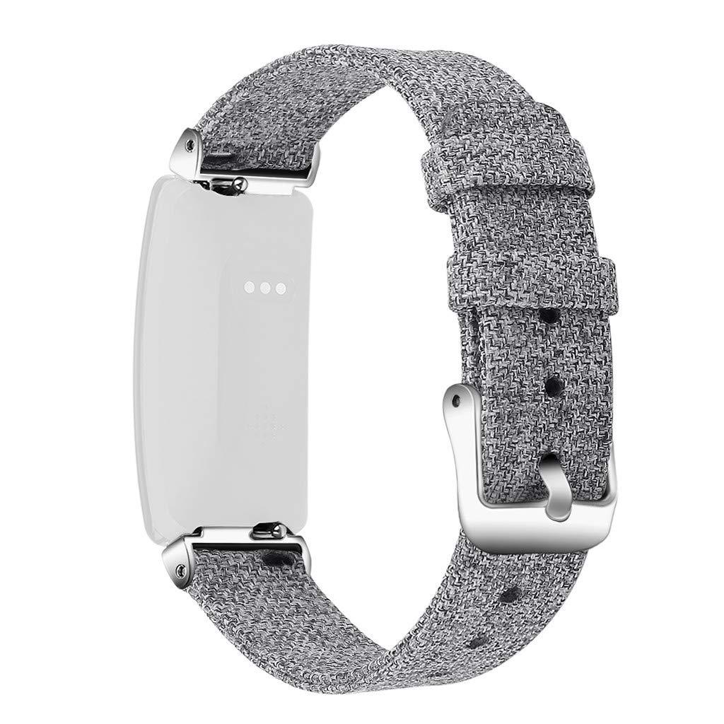 Correas para Relojes de Hombre y Mujeres, Compatible para Fitbit Inspire/Inspire HR, Heligen Correa de Repuesto para Reloj Inteligente para Fitbit ...