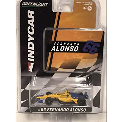 Greenlight 10845 1: 64 2020#TBD Fernando Alonso/TBD Die-Cast Vehicle, Multicolor: Toys & Games