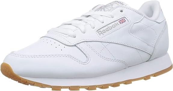 Reebok Classic Leather, Zapatillas Mujer: Amazon.es: Zapatos y complementos