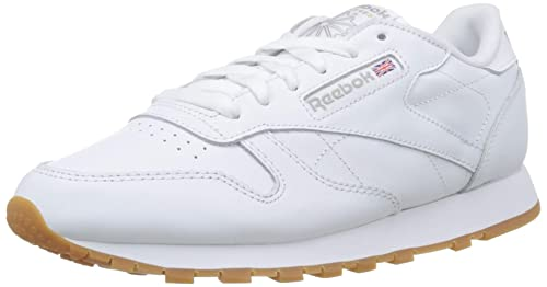 Reebok Damen Classic Leather Sneaker, weiß, 36 EU