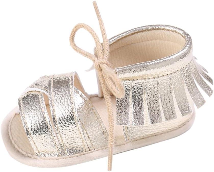 Bonjouree Chaussures Souples Antid/érapant Premiers Pas pour B/éb/é Filles et Gar/çons