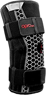 Opro Knee Brace with Stabilisers, Support Unisex Adulto, Black, Medium