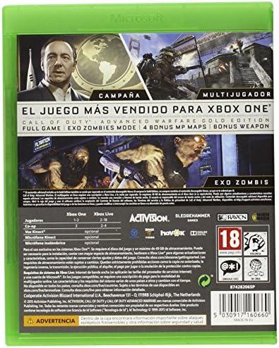 Call Of Duty: Advanced Warfare - Gold Edition: Amazon.es: Videojuegos