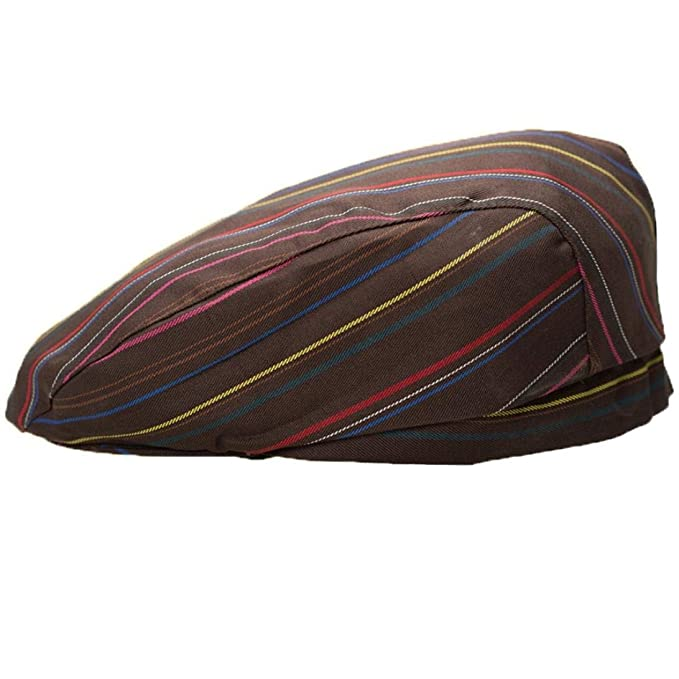 Boinas Unisex Gorra Vintage Catering Hat Chef Beret Chef Modernas Casual Pato Boina Golf Parasol Rayas Mezcla De Algodón (Color : A, Size : One Size): ...