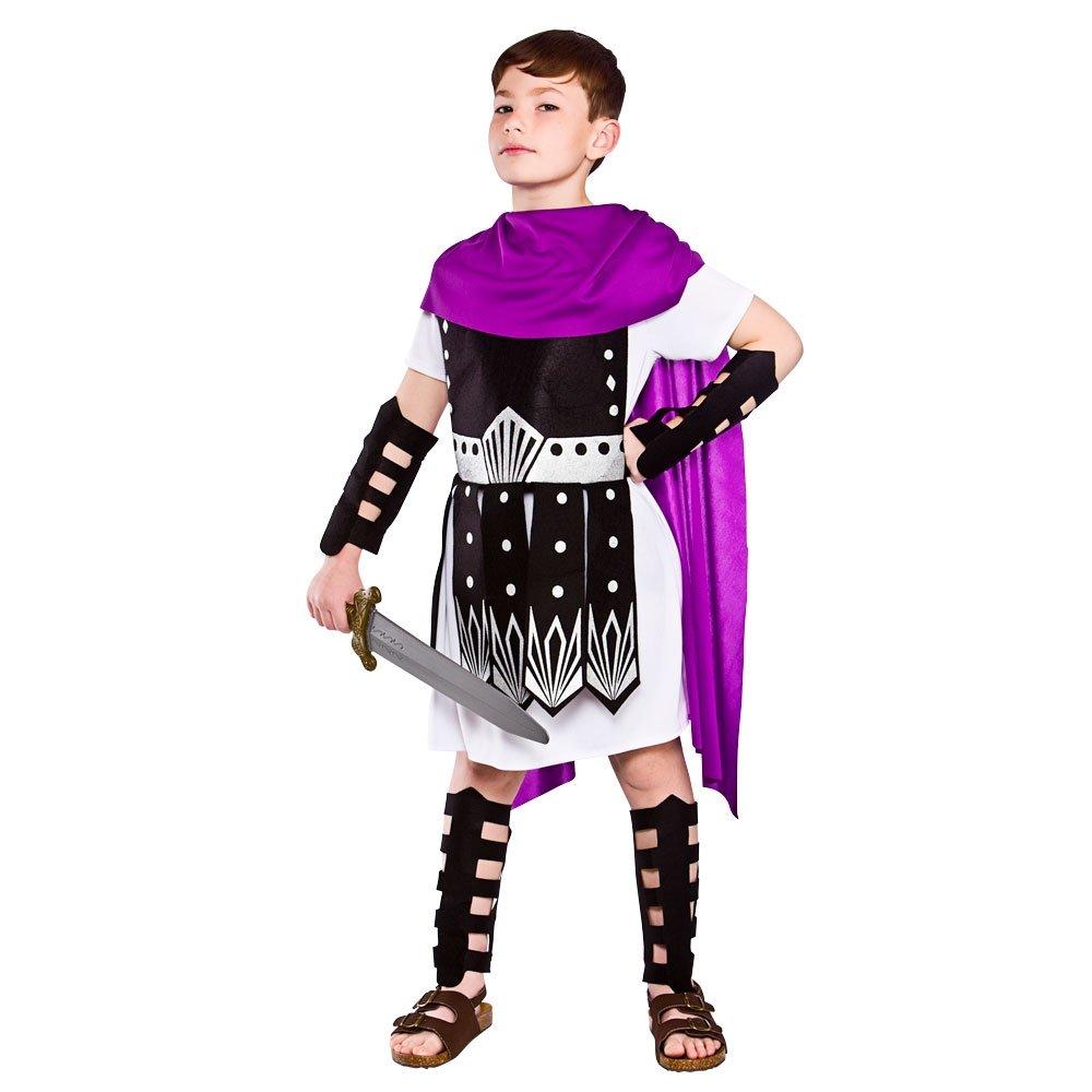 Niños Guerrero Romano Disfraces (Talla Medio): Amazon.es: Juguetes ...