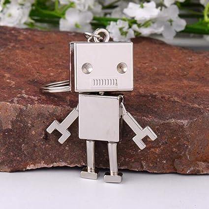 KJHKJH Hombres Niños Accesorios Lindo Robot De Aleación ...