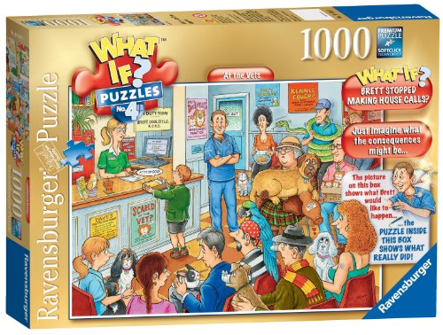 Ravensburger What If? No. 4 - At The Vets 1000pc Jigsaw Puzzle