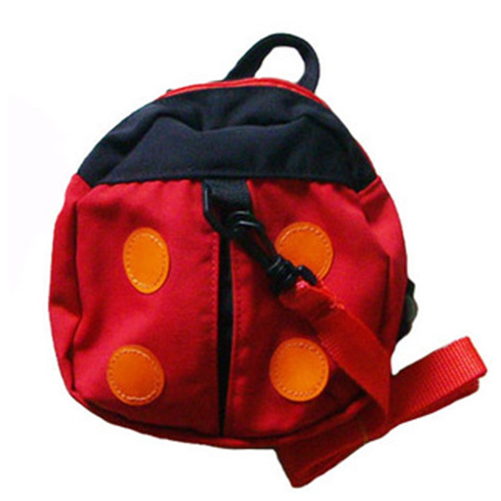 Jooks Baby Ladybug Harness Backpack Toddler Safety Harness Reins Kids Anti-Lost Strap Walker School Bag
