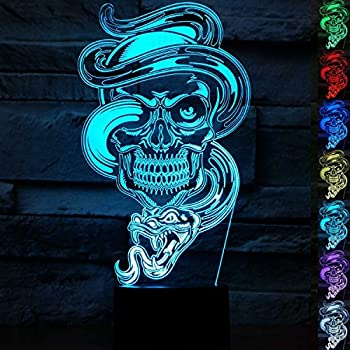 Colorful Touch Switch Table Light 3D Acrylic Led Night Light For Football Fan ei