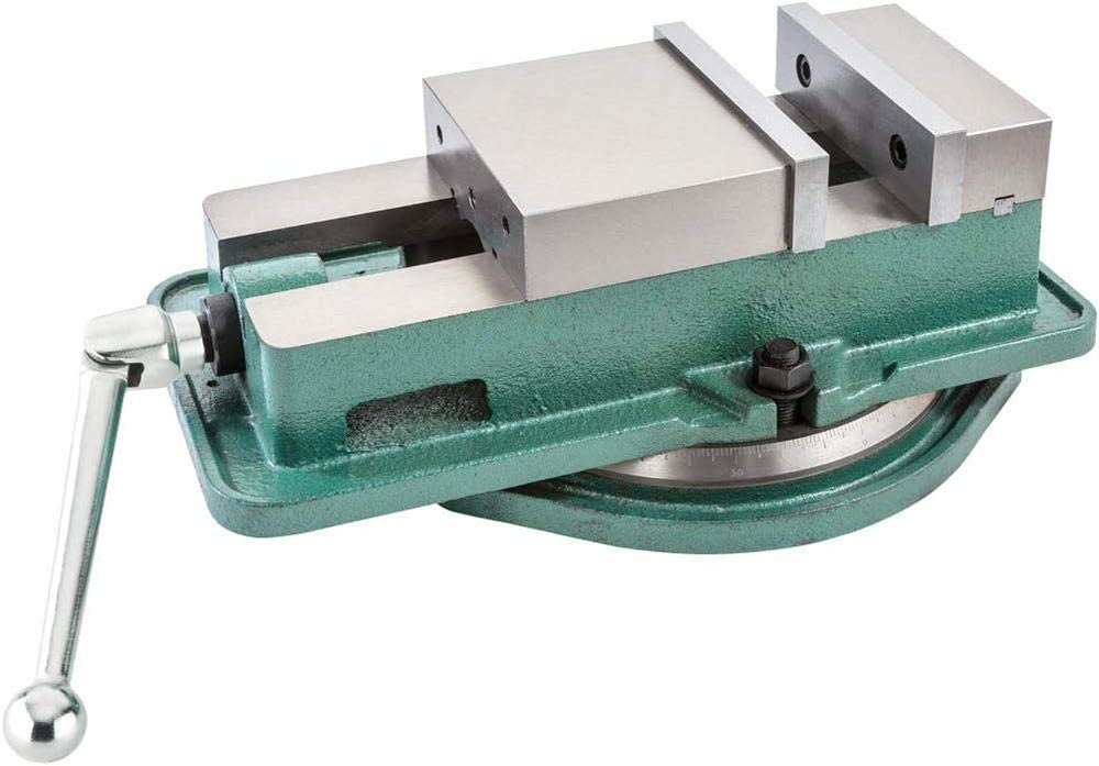 "5/"" Milling Machine Lockdown Vise-Swiveling Base 0-360° Swiveling Base Industrial"