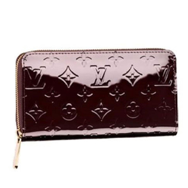 ルイヴィトン 財布 LOUIS VUITTON M93522 モノグラムヴェルニ アマラント ジッピーウォレット 長財布 [並行輸入品] B014J6NBJ2
