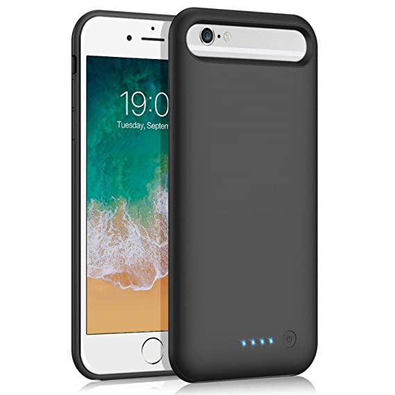 Amazon.com: VOOE - Funda con batería para iPhone 6S/6/7/8 ...