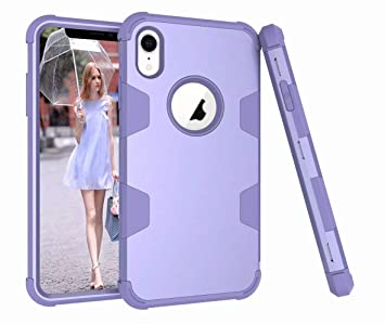 coque silicone iphone xr violet
