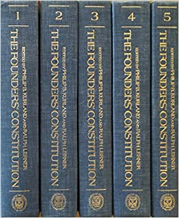 The Founders' Constitution (5 Volume Set)