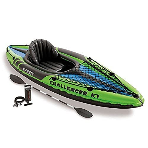 Intex Challenger K1 Kayak Inflatable Kayak Set