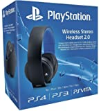 Sony PlayStation Wireless Stereo Headset 2.0 - Black (PS4/PS3/PS Vita)