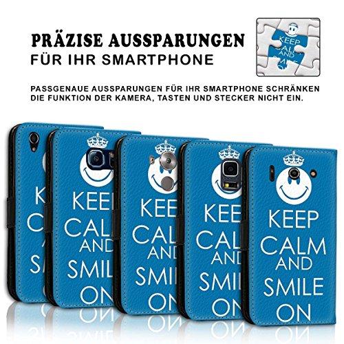 Wallet Book Style Flip Handy Tasche Case Schutz Hülle Schale Motiv Etui für Apple iPhone 6 Plus / 6S Plus - Design Flip MVD390