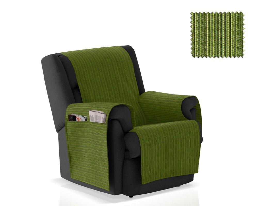 JM Textil Couvre Fauteuil Rino Taille 1 Place (55 cm) Couleur 01 (Couleurs Variées Disponibles)
