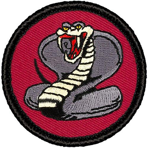 "Maroon Cobra Patrol Patch - 2"" Round - FREE SHIPPING!"
