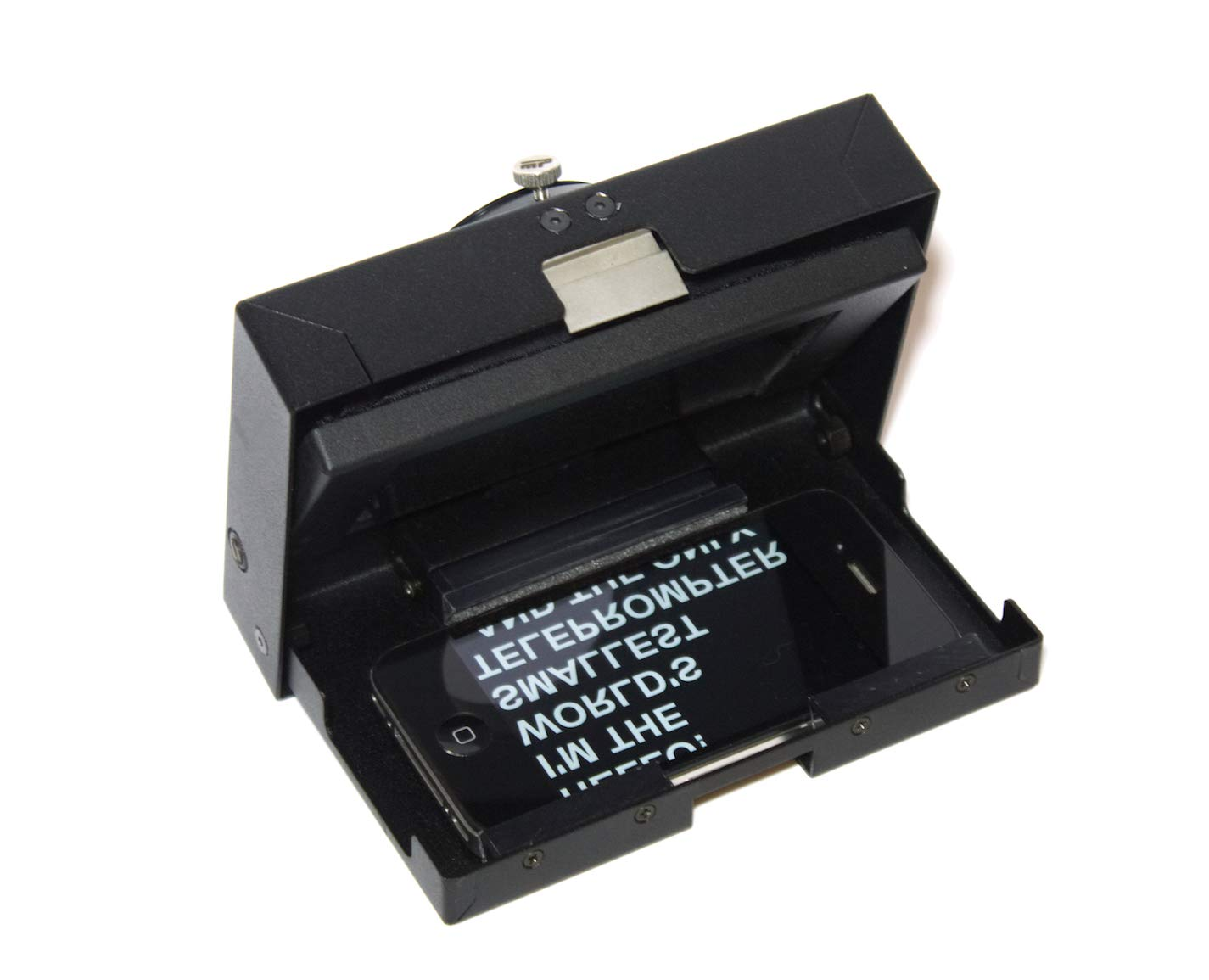 MicroPrompter - World's Smallest Professional Portable Teleprompter for Recording Videos on Your Smartphone, Camcorder or Small DSLR by MicroPrompter (Image #4)