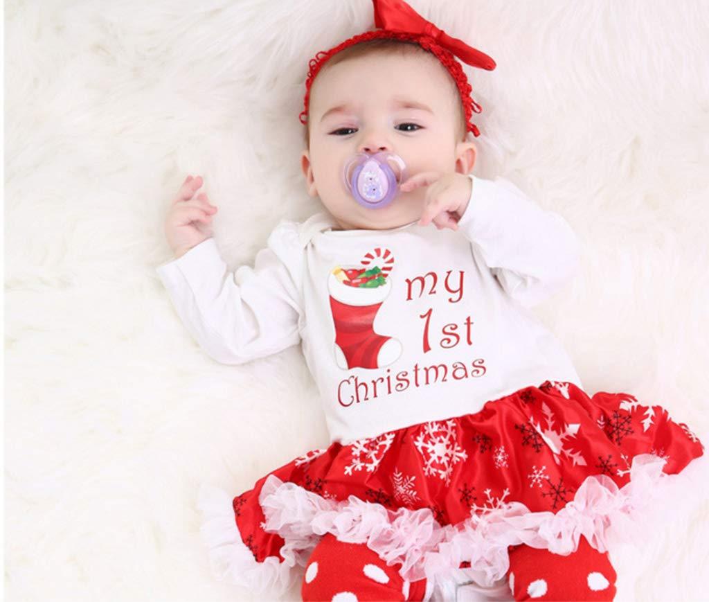 Vestido de niña bebé de Navidad, primer vestido de tutú de ...