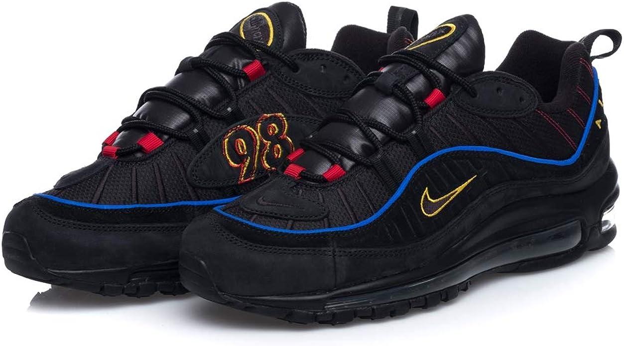 Avis : Nike Air Max 98 noire Present Black Amarillo (homme)