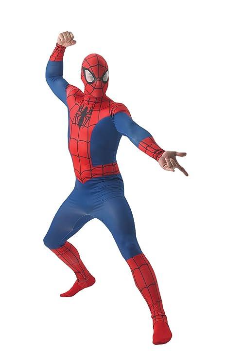 Costume Spiderman Adulto Taglia Standard  Amazon.it  Giochi e giocattoli 33b409b2f193