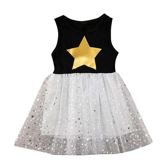 1a5970e08 AIni Ropa Bebé NiñA Verano Recien Nacido Vestido De Tul Vestido De NiñA De  Verano Vestido ...