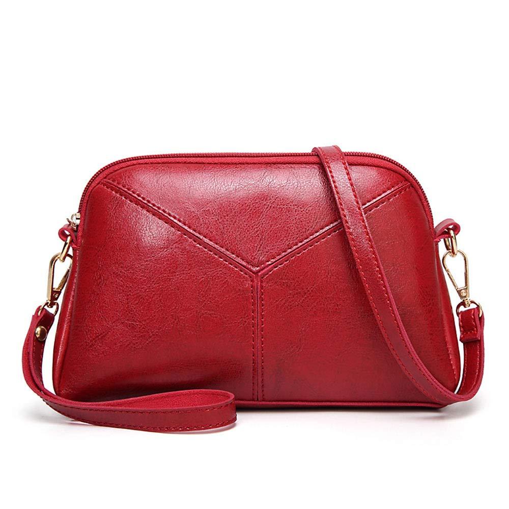 Women PU Leather Wristlet...