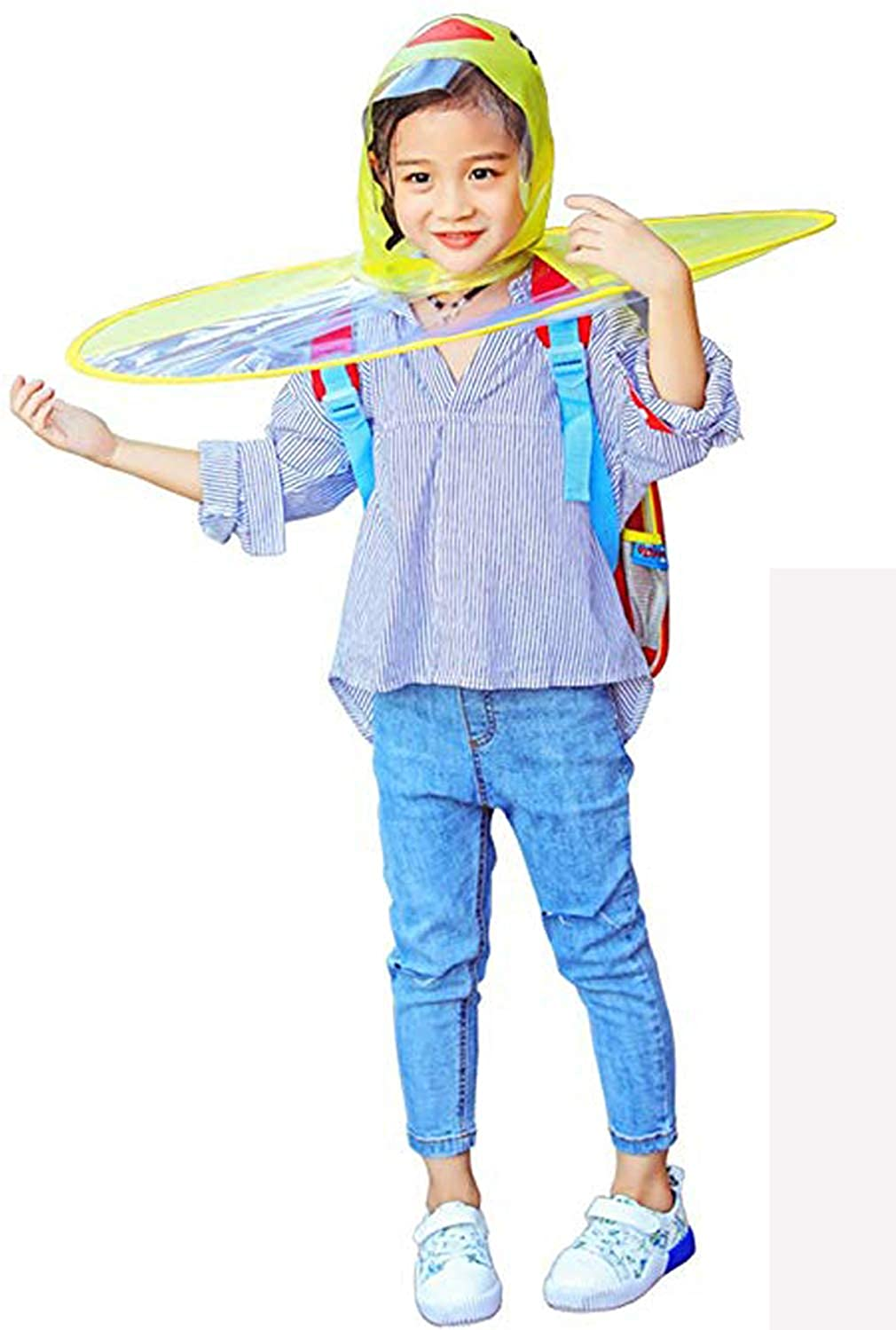 8bee9165ea5c1 Meet Your Need - Would you like to have this UFO raincoat for your child   Are you willing to add more fun to your child in the rainy days
